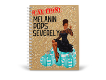 Load image into Gallery viewer, Melanin Appreciation Notebook / Journal