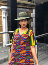 Load image into Gallery viewer, Nwando Kente Tunic/shift dress - Afrothrone