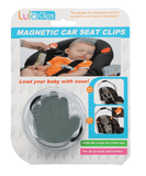 LulaClips- Magnetic Car Seat Clips- Gray - Lulakidsbrand.com