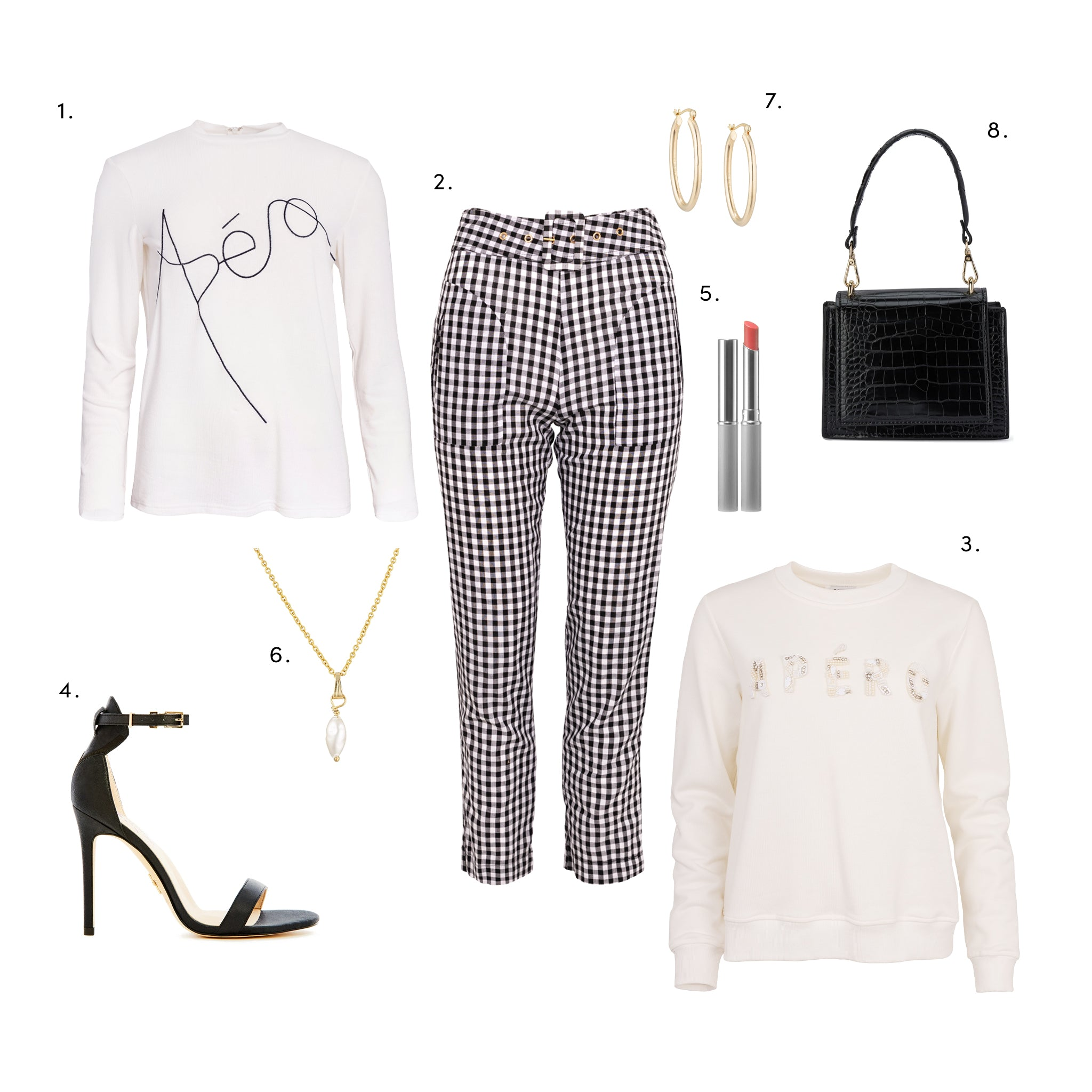 evening wear styling with Apero beaded jumper