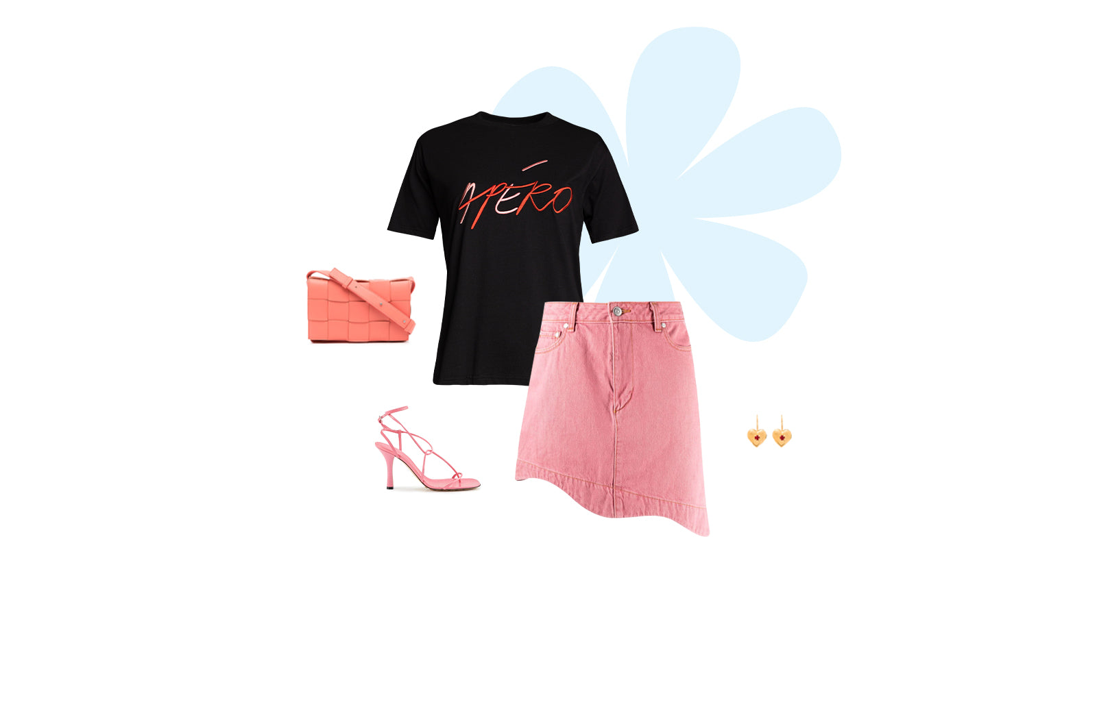 Milan Embroidered Tee