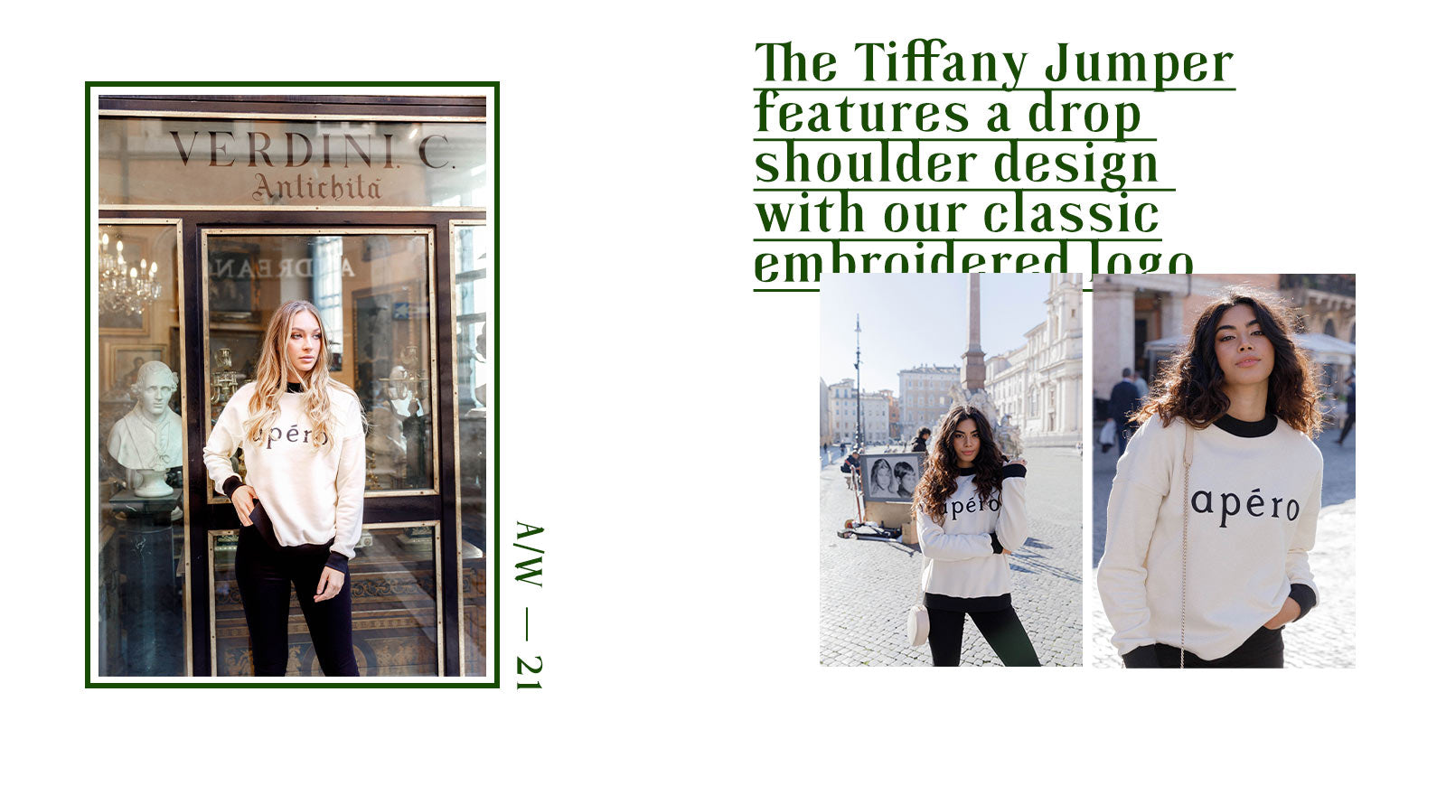 Tiffany Embroidered Jumper
