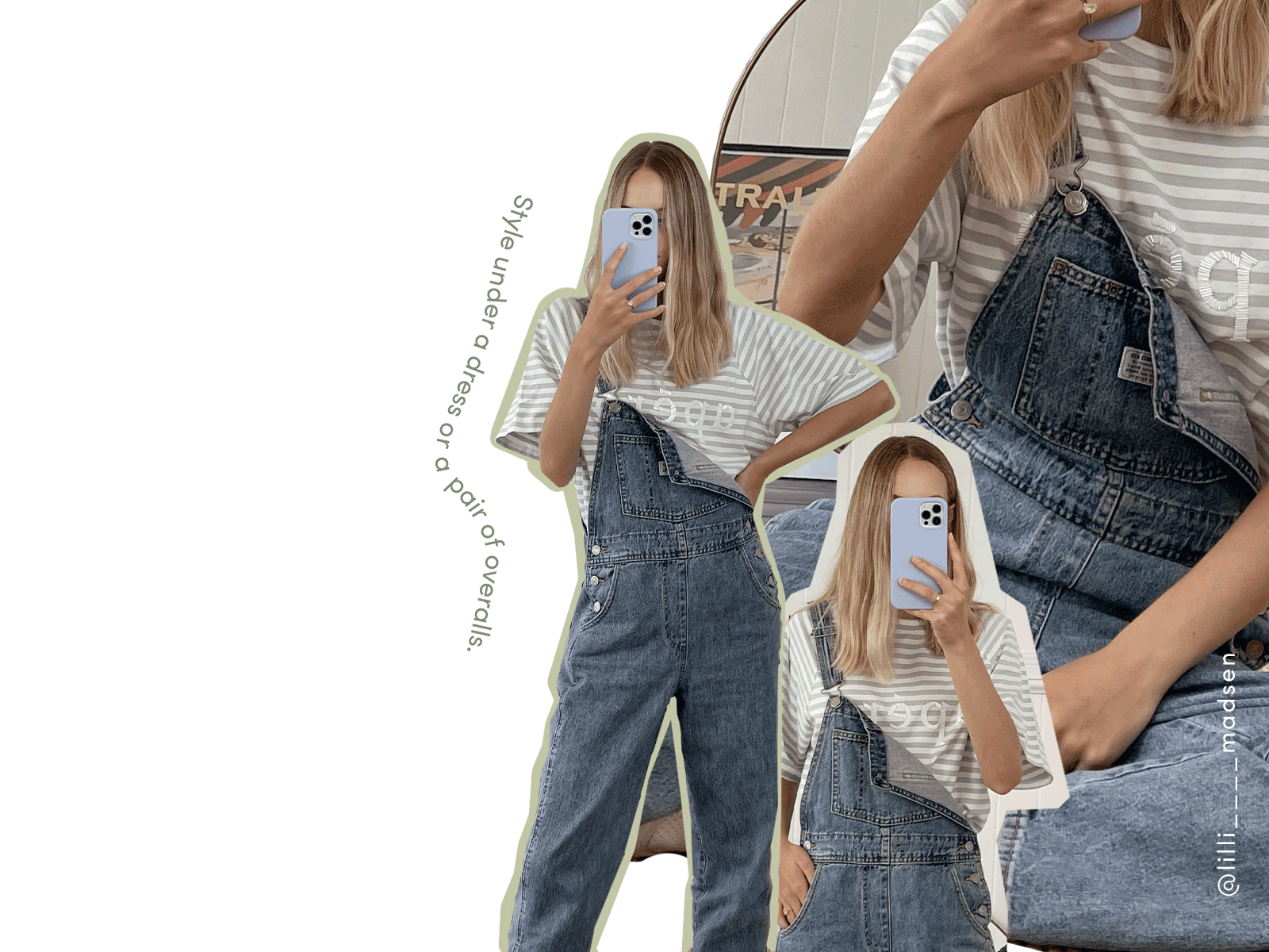 Layer overalls over the top