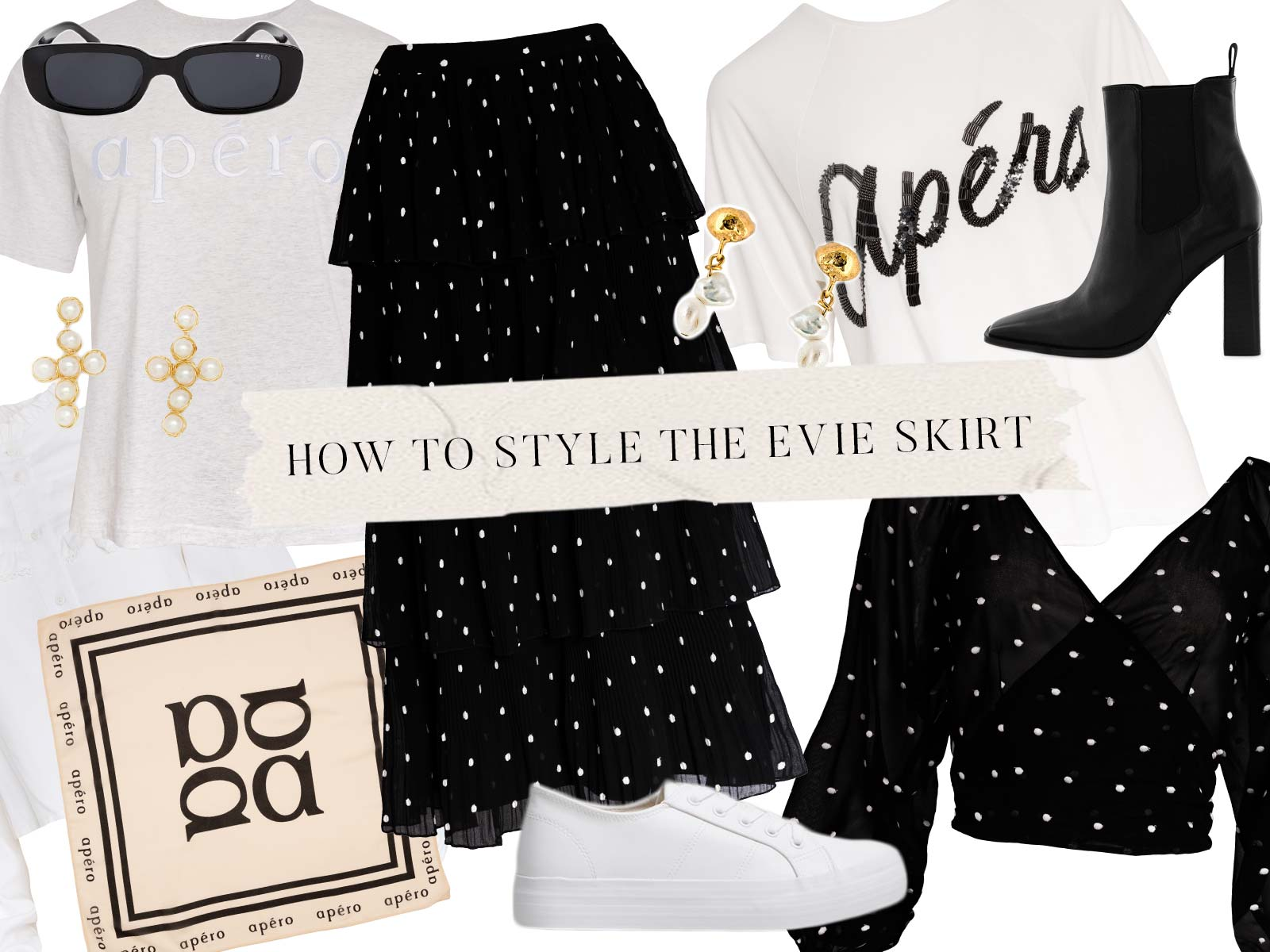 How to style Evie Frill Skirt