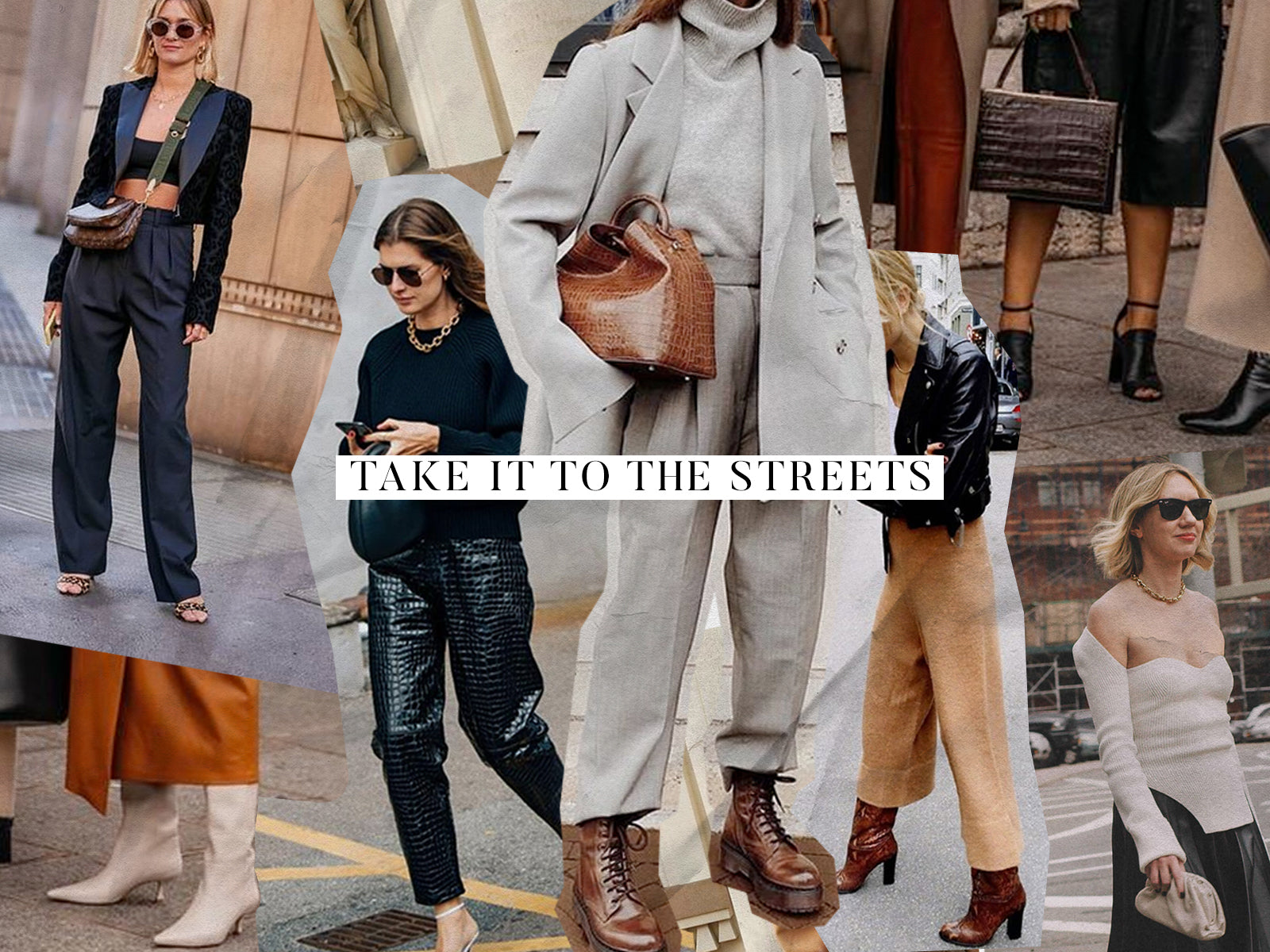 Take It To The Streets: Knitwear Styling