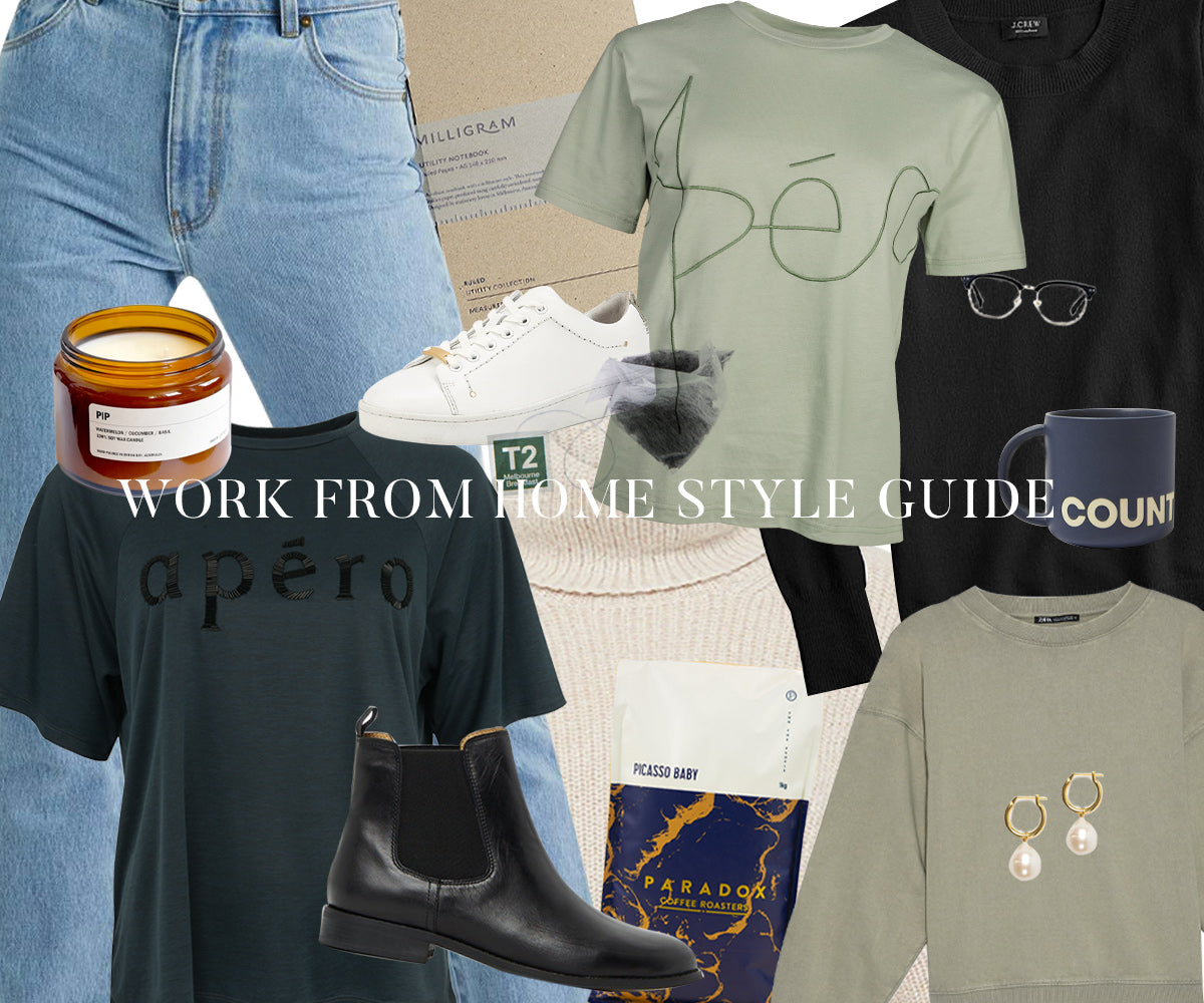 Work From Home Style Guide - Logo Tees!