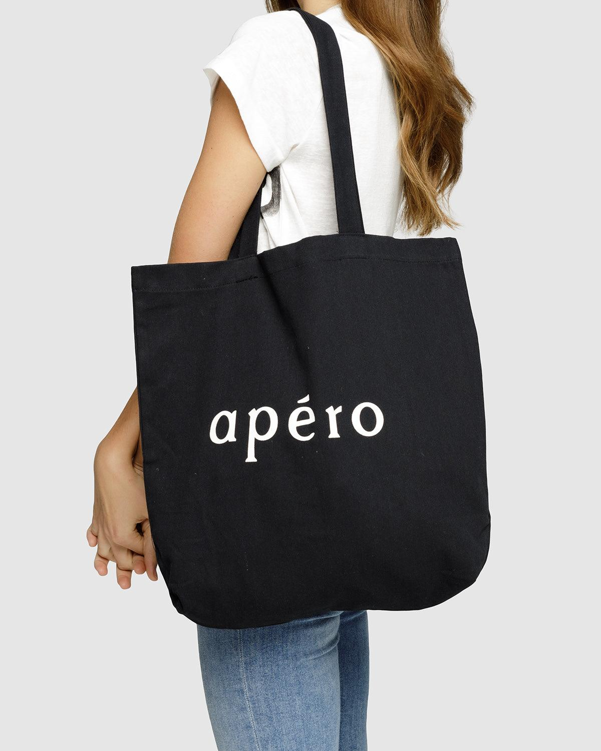 Apero Tote Bag - Black