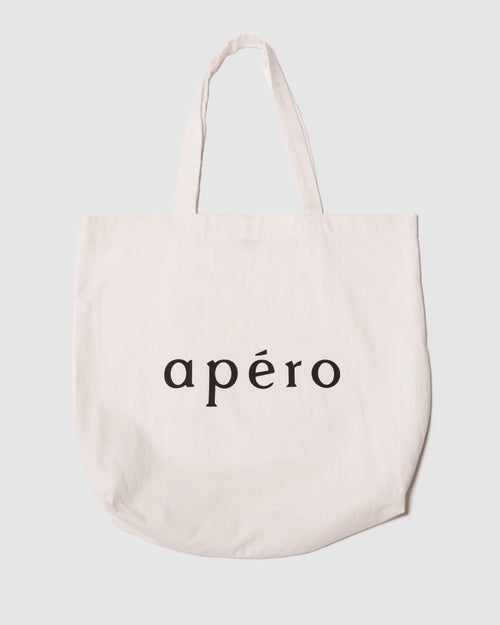 Apéro Tote Bag - Off White / Black