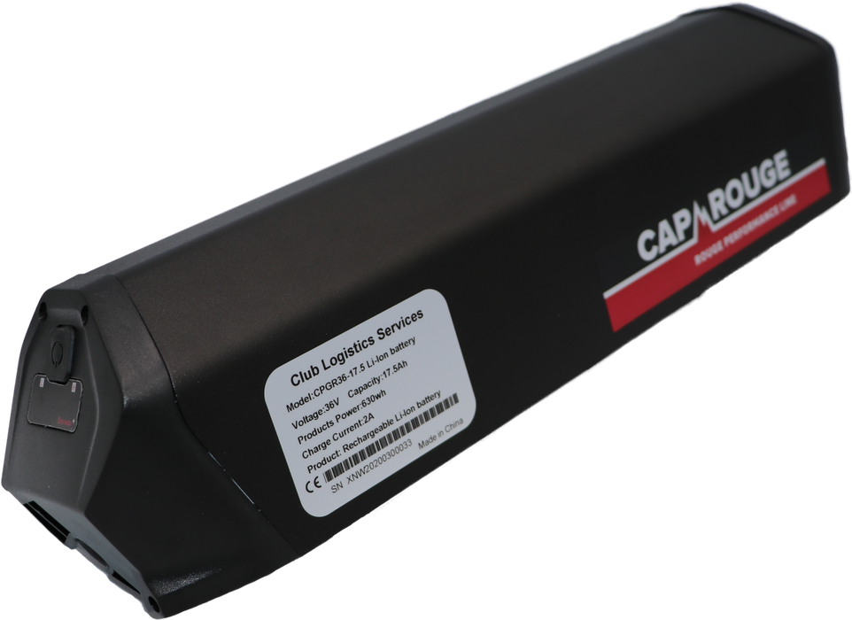 CPGRX36-17.5, 36 Volt, 17.5AH, 630Wh, Dorado battery, Samsung cells