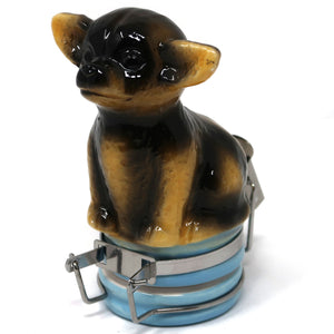 Chihuahua Ceramic Container (50mL/Small)