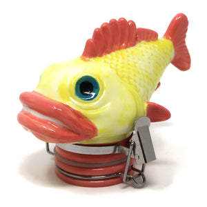 Fish Porcelain Container (100mL/Medium)