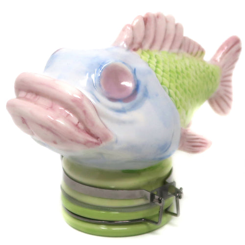 Fish Porcelain Container (250mL/Large)