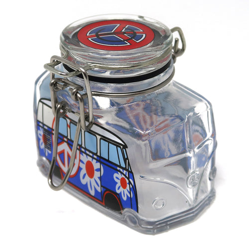 Hippie Bus Flower Power (Red, White, & Blue / Medium)