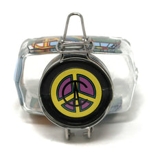 Hippie Bus Rainbow Power (Mint & Lavender / Medium)