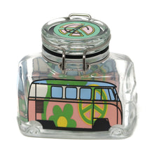 Hippie Bus Flower Power (Pink & Green / Medium)