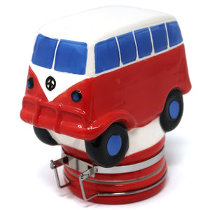 Hippie Bus Ceramic Container (250mL/Large)