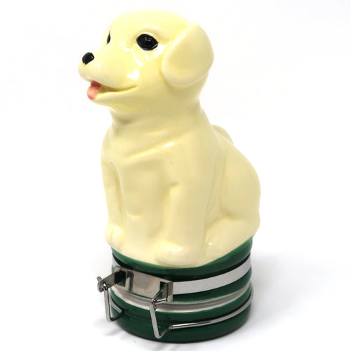 Labrador Puppy Ceramic Container (100mL/Medium)