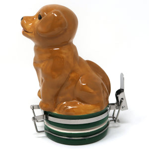 Labrador Puppy Ceramic Container (250mL/Large)