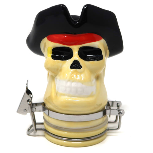 Pirate Skull Porcelain Container (100mL/Medium)