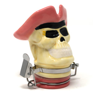 Pirate Skull Porcelain Container (50mL/Small)