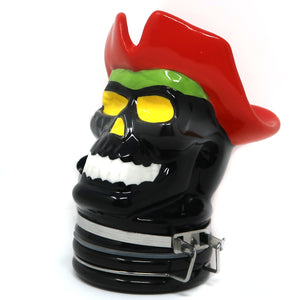 Pirate Skull Porcelain Container (250mL/Large)