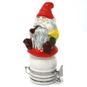 Smoking Gnome Porcelain Container (250mL/Large)