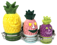 Pineapple Face Ceramic Container (100mL/Medium)