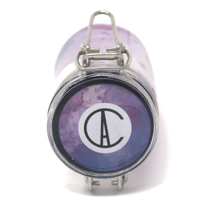 "Decaled Cylinder ""Purple Rorschach"" (70mL/Small-Medium)"