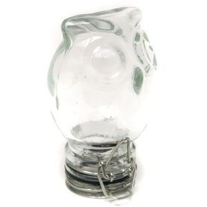 Owl Clear Glass Container (100mL/Medium)