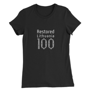 Women's Slim Fit T-Shirt (OFFICIAL 100)
