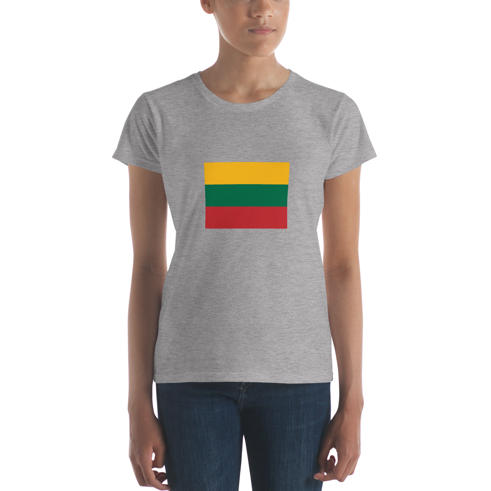 Women's short sleeve t-shirt (FLAG)