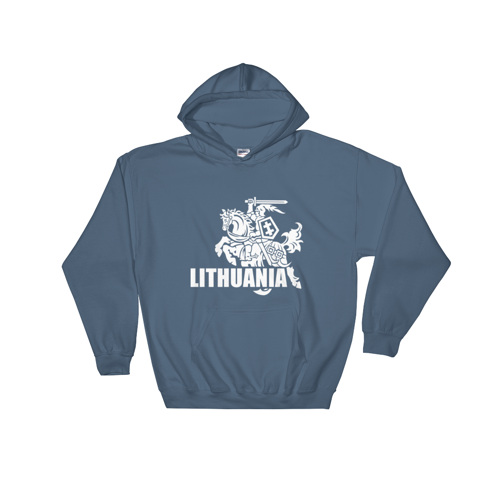 Hooded Sweatshirt (VYTIS+LITHUANIA)