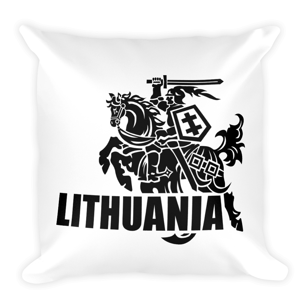 Square Pillow (VYTIS+LITHUANIA)