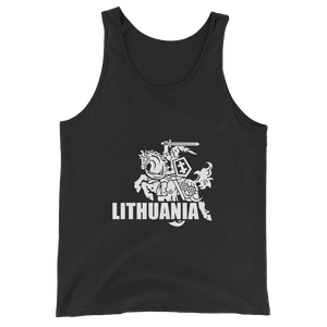 Unisex  Tank Top (VYTIS+LITHUANIA)