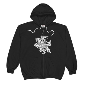 Unisex  Zip Hoodie (VYTIS); design for Danguole