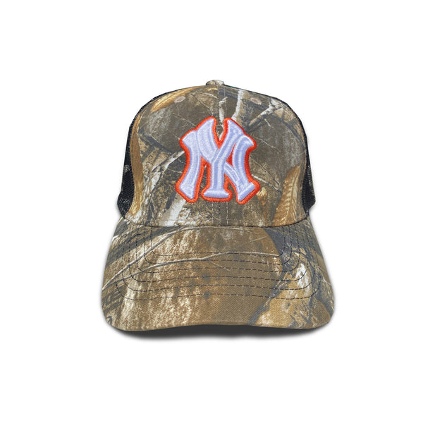 Slightly Fatter NY Trucker Hat Real Tree