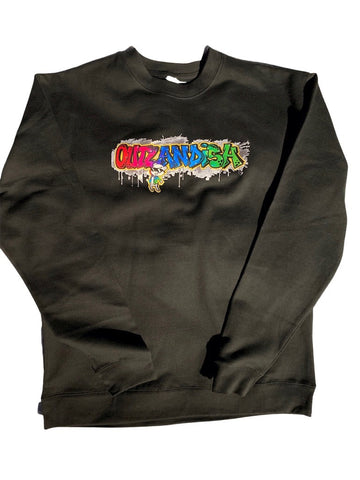 Adult OUTLANDISH crew neck sweat shirt