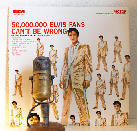 Elvis Presley Gold Records Vol. 2 | Drop The Needle Vinyl