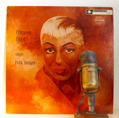 "Frances Faye ""Sings Folk Songs"" 