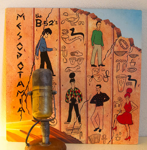 B-52's Mesopotamia Vinyl Record EP | Drop The Needle Vinyl