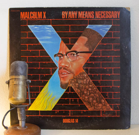 Malcolm X By Any Means Necessary Vinyl Record Album