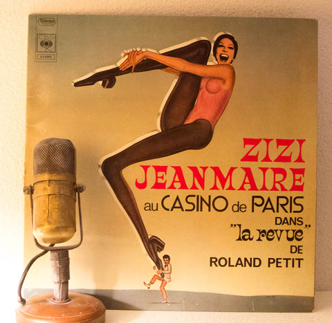 "Zizi Jeanmaire ""La Revue"" Paris France Vinyl 1970 French Language Album"