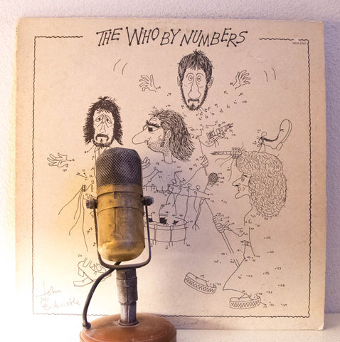 "The Who ""The Who By Numbers"" 1975 Classic Rock Vinyl 
