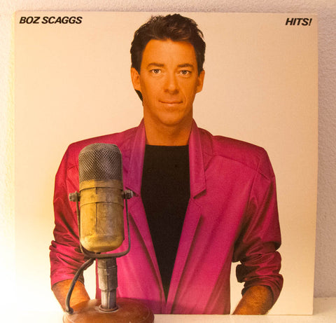 "Boz Scaggs ""Hits!"" 1970s Pop Rock Love Ballads (1980 CBS)"