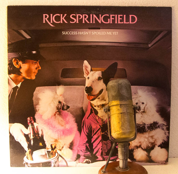 "Rick Springfield ""Success Hasn't Spoiled Me Yet"" 1982 Vinyl 