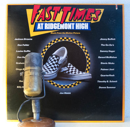 "Soundtrack album ""Fast Times At Ridgemont High"" 
