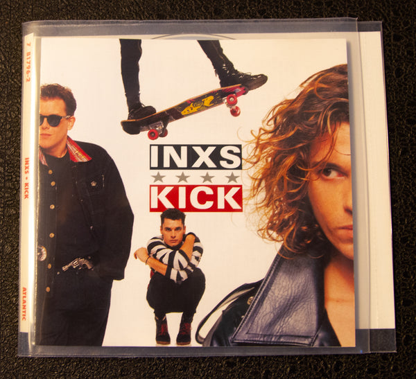 INXS - Kick - front cover