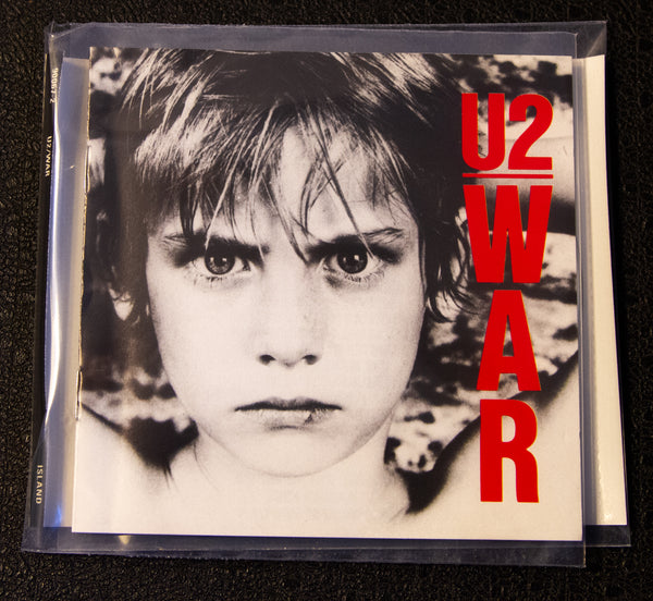 U2 - War - front cover