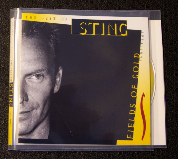 Sting - The Best Of - front cover
