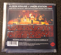 Alison Krauss - Live - back cover